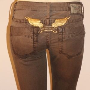 New Women ROBIN'S JEAN sz 24 Marilyn Straight Jean